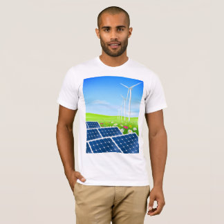 Solar And Wind Power Mens T-Shirt