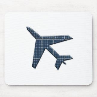 Solar aviation mouse pad