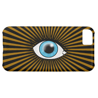 Solar Blue Eye Case For iPhone 5C