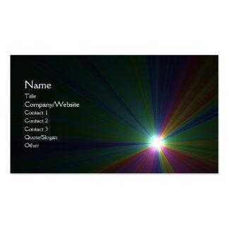 Solar Business Card Templates