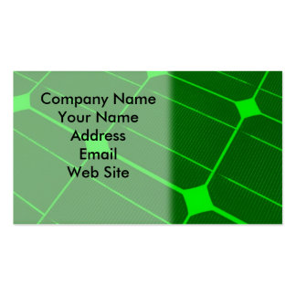 Solar Cell Energy Double-Sided Standard Business Cards (Pack Of 100)
