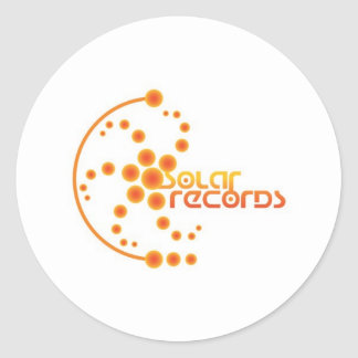 SOLAR CROP ROUND STICKER