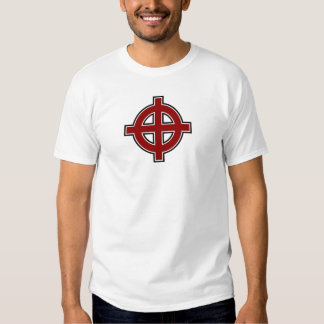Solar Cross (red, white & black) Tee Shirts