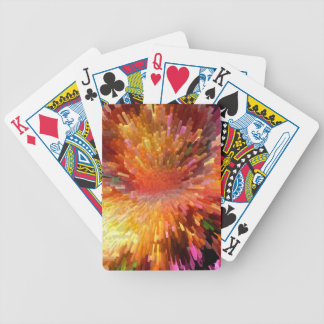 Solar Cube Blast Bicycle Playing Cards