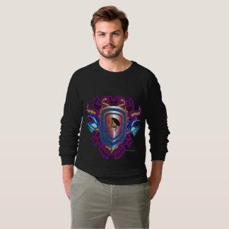 Solar Dragon Shield Men's Raglan Sweatshirt