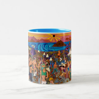 Solar Eclipse 2012 Two-Tone Coffee Mug