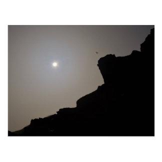 Solar Eclipse 2015 Cornwall England Postcard