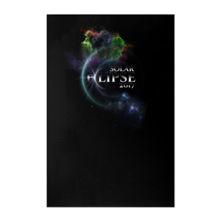 Solar Eclipse 2017 Acrylic Print