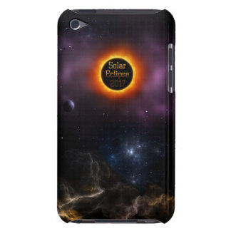 Solar Eclipse 2017 Nebula Bloom Barely There iPod Cover