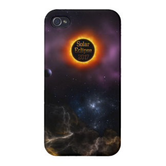 Solar Eclipse 2017 Nebula Bloom Case For iPhone 4