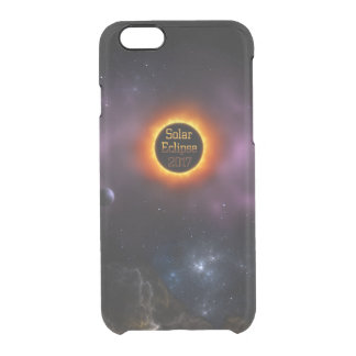 Solar Eclipse 2017 Nebula Bloom Clear iPhone 6/6S Case