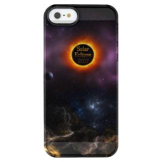 Solar Eclipse 2017 Nebula Bloom Clear iPhone SE/5/5s Case