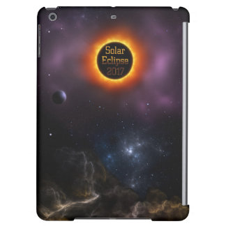 Solar Eclipse 2017 Nebula Bloom Cover For iPad Air