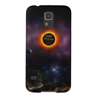 Solar Eclipse 2017 Nebula Bloom Galaxy S5 Cover