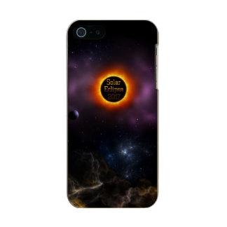 Solar Eclipse 2017 Nebula Bloom Incipio Feather® Shine iPhone 5 Case