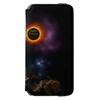 Solar Eclipse 2017 Nebula Bloom Incipio Watson™ iPhone 6 Wallet Case