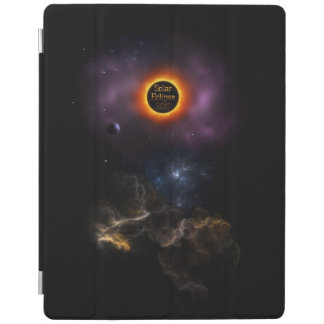 Solar Eclipse 2017 Nebula Bloom iPad Cover