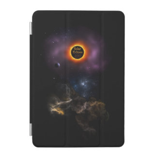 Solar Eclipse 2017 Nebula Bloom iPad Mini Cover