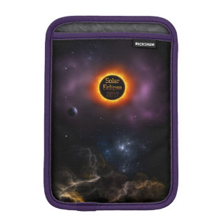 Solar Eclipse 2017 Nebula Bloom iPad Mini Sleeve