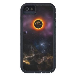 Solar Eclipse 2017 Nebula Bloom iPhone 5 Covers