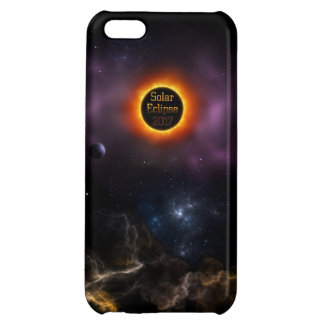 Solar Eclipse 2017 Nebula Bloom iPhone 5C Covers