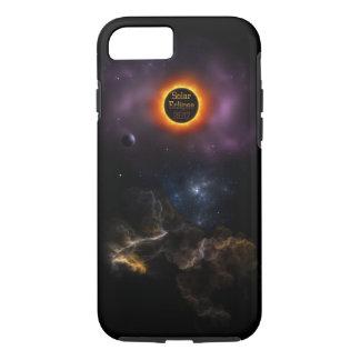 Solar Eclipse 2017 Nebula Bloom iPhone 8/7 Case