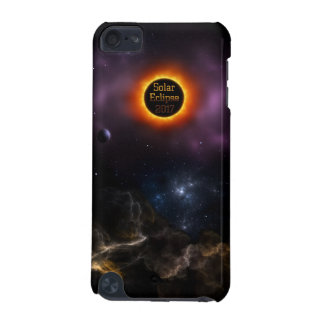 Solar Eclipse 2017 Nebula Bloom iPod Touch (5th Generation) Cover