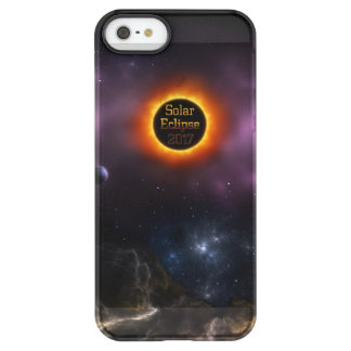 Solar Eclipse 2017 Nebula Bloom Permafrost® iPhone SE/5/5s Case