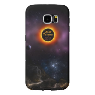 Solar Eclipse 2017 Nebula Bloom Samsung Galaxy S6 Cases