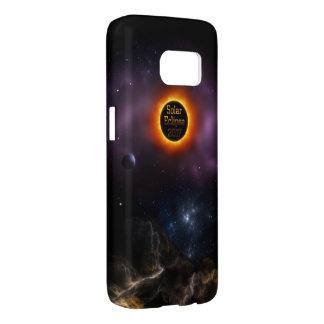 Solar Eclipse 2017 Nebula Bloom Samsung Galaxy S7 Case