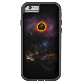Solar Eclipse 2017 Nebula Bloom Tough Xtreme iPhone 6 Case