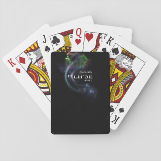 Solar Eclipse 2017 Playing Cards