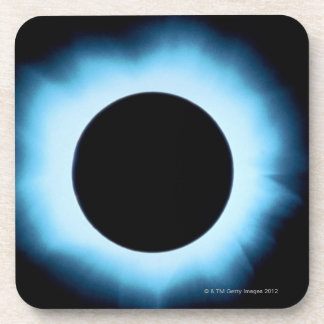 Solar eclipse 2 beverage coaster