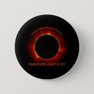 Solar Eclipse 2 Inch Round Button