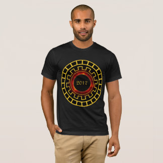 Solar Eclipse 8/21/2017 using Concentric Numbers T-Shirt