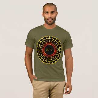 Solar Eclipse 8/21 Concentric Number style T-Shirt