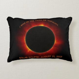 Solar Eclipse Accent Pillow