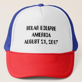 Solar Eclipse America Trucker Hat August 21, 2017