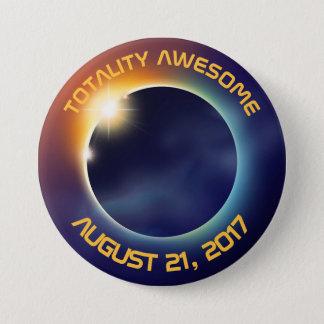 Solar Eclipse | Astronomy 3 Inch Round Button