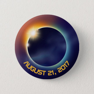 Solar Eclipse | Astronomy | Space 2 Inch Round Button