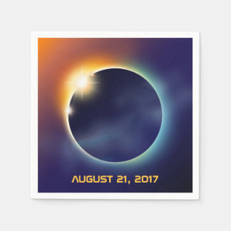Solar Eclipse | Astronomy Star Party Disposable Napkins