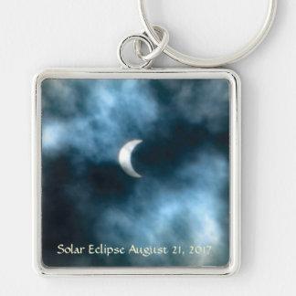 Solar Eclipse August 21, 2017 Keychain