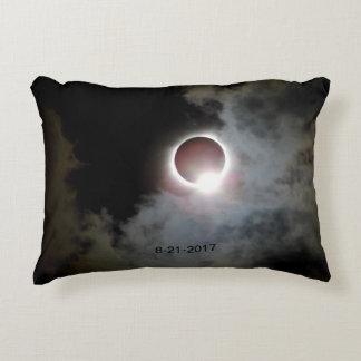 Solar Eclipse August 21st 2017 Accent Pillow