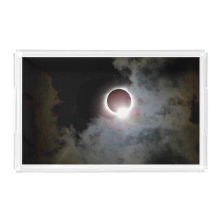 Solar Eclipse August 21st 2017 Acrylic Tray