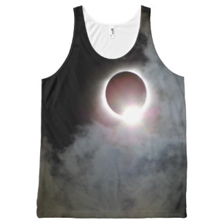 Solar Eclipse August 21st 2017 All-Over-Print Tank Top