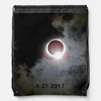Solar Eclipse August 21st 2017 Drawstring Bag