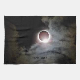 Solar Eclipse August 21st 2017 Kitchen Towel