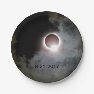 Solar Eclipse August 21st 2017 Paper Plate