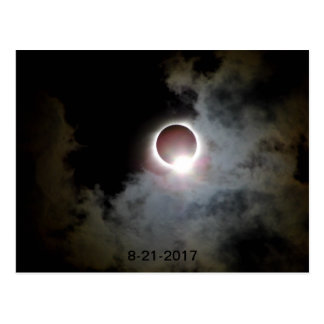 Solar Eclipse August 21st 2017 Postcard