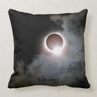 Solar Eclipse August 21st 2017 Throw Pillow